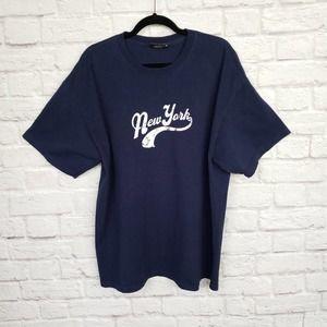 VTG Steve & Barry's S/S T-Shirt Blue New York